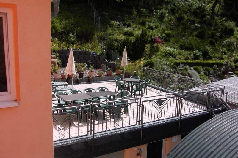Gästehaus Ströter - Sonnenterrrasse